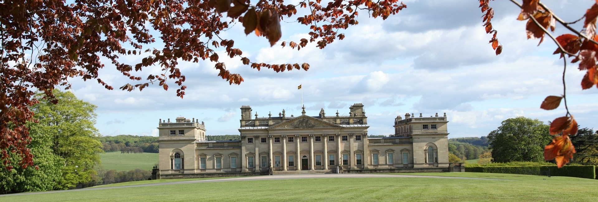 Harewood House from the North Front credit Simon Warner and Harewood House Trust