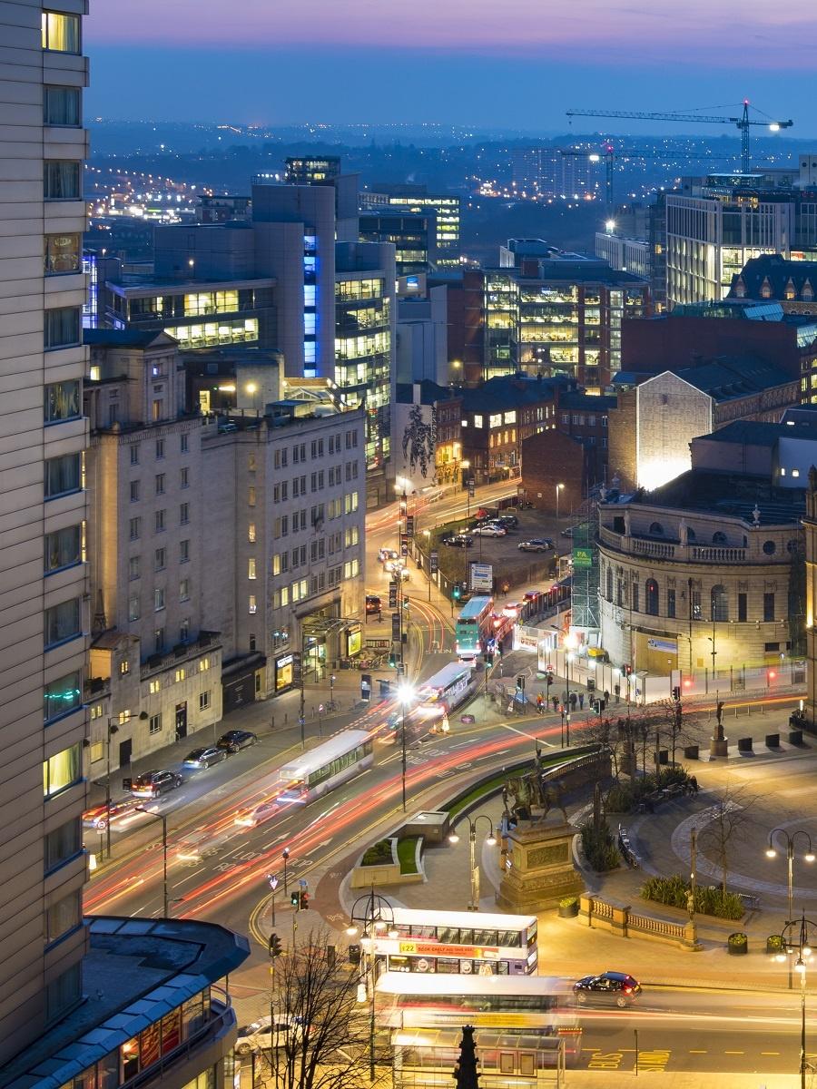 City Square, Leeds - credit Carl Milner Photography for Visit Leeds
