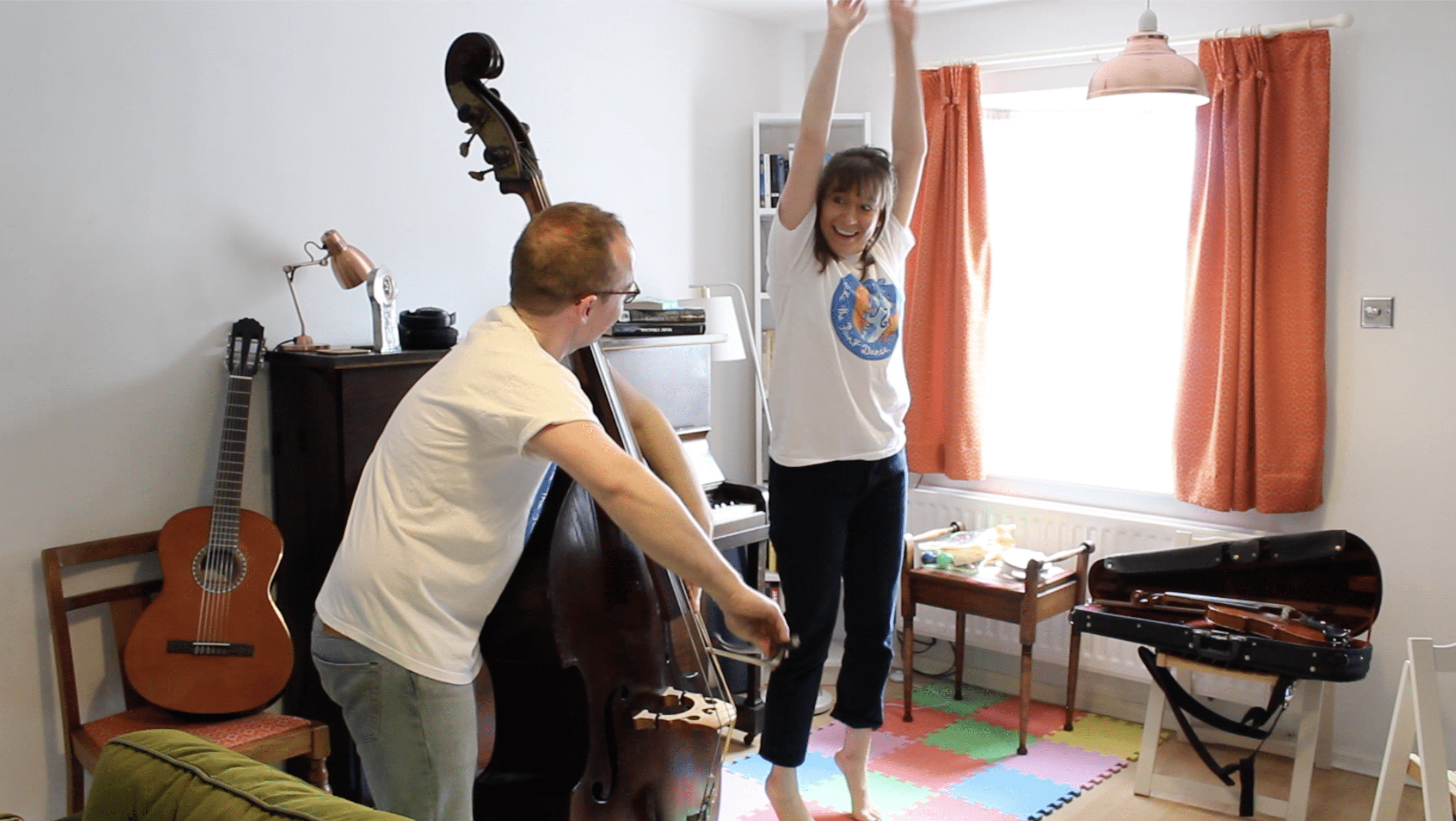 Make The Paint Dance: Free Zoom Music, Movement and Storytelling Workshop