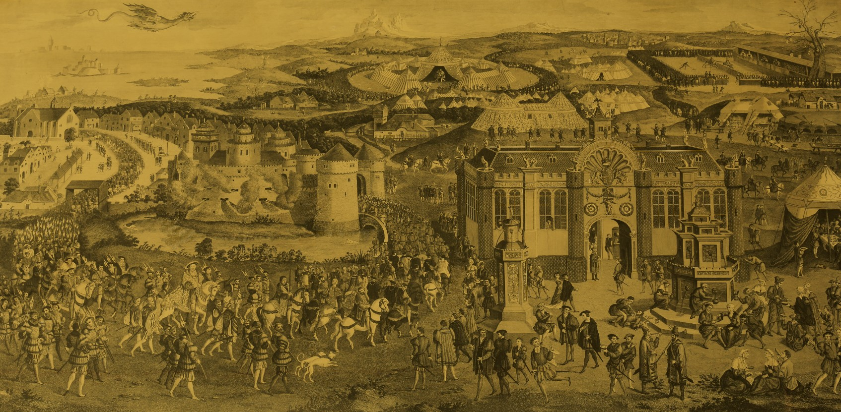 Royal Armouries: Field of Cloth of Gold Online Exhibition