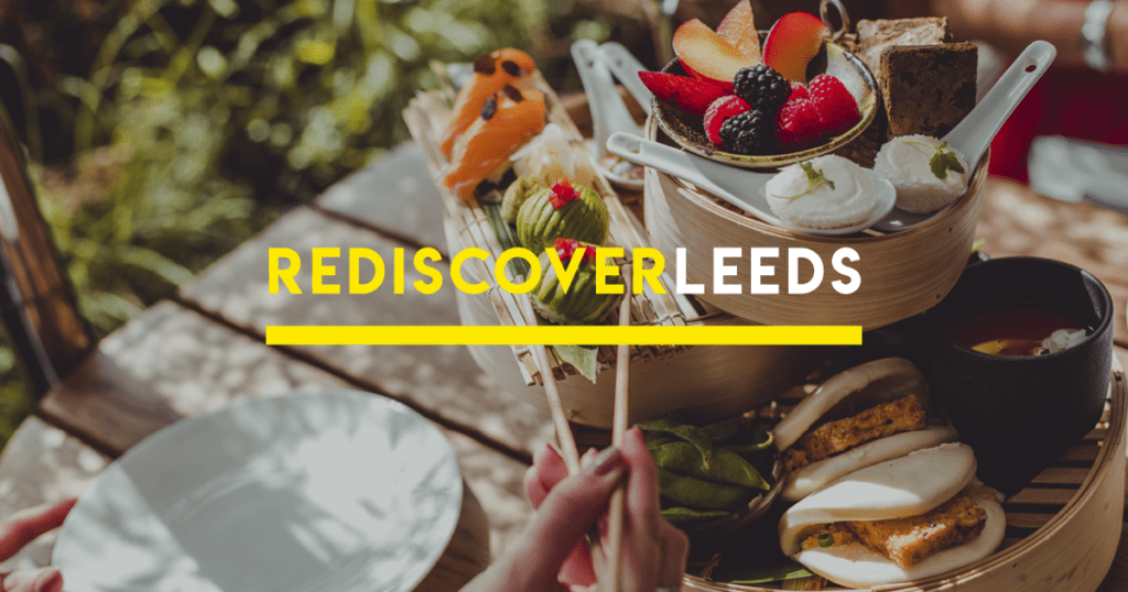 #ReDiscoverLeeds - Afternoon tea at Issho - credit Will Stanley