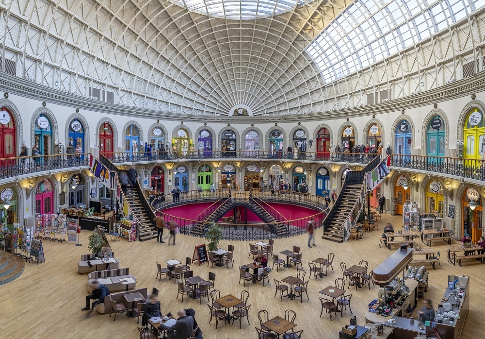 Leeds Corn Exchange - credit Carl Milner Photography for Leeds City Council