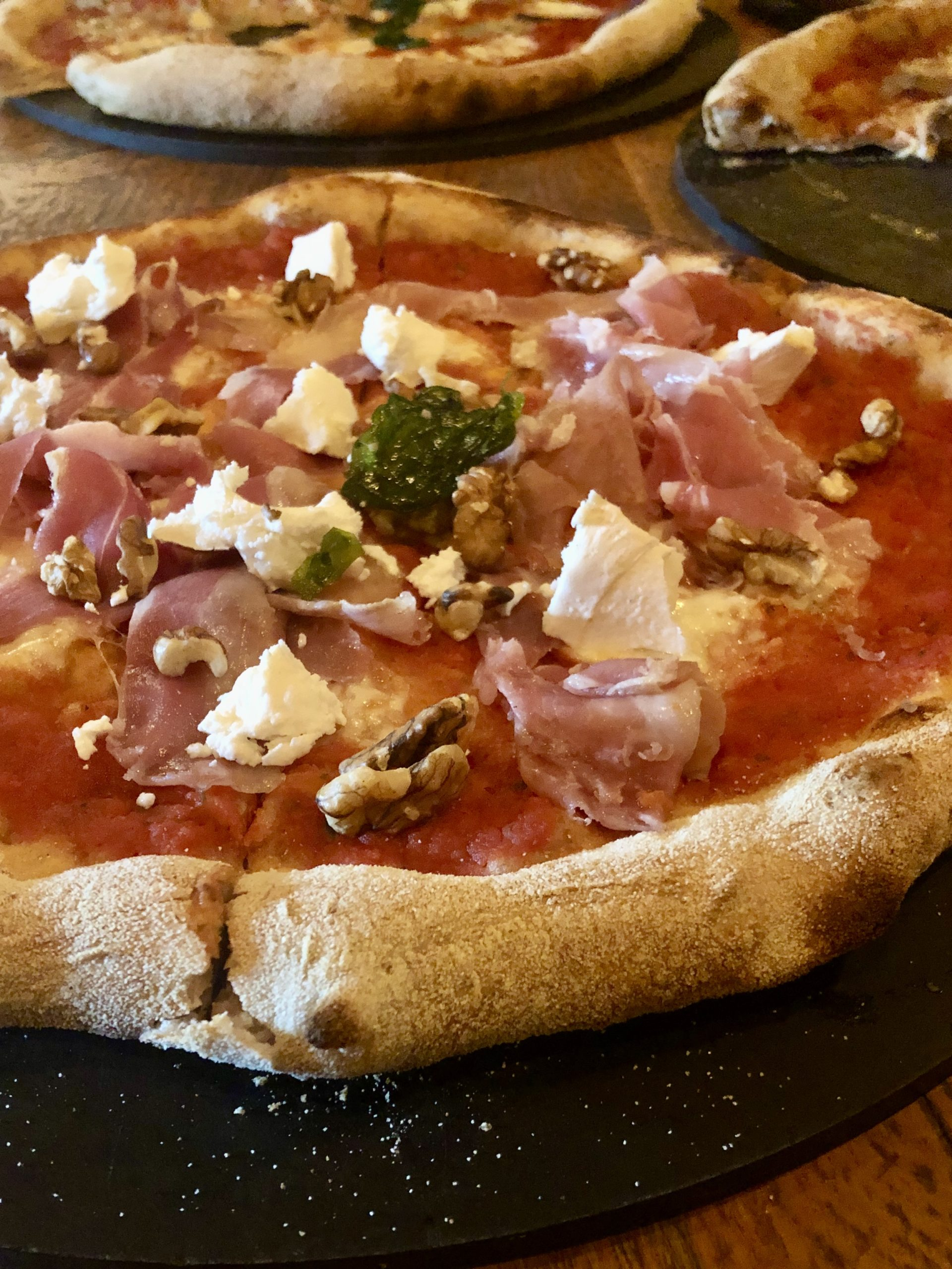 LIVIN'Italy pizza, credit Leeds Food Tours