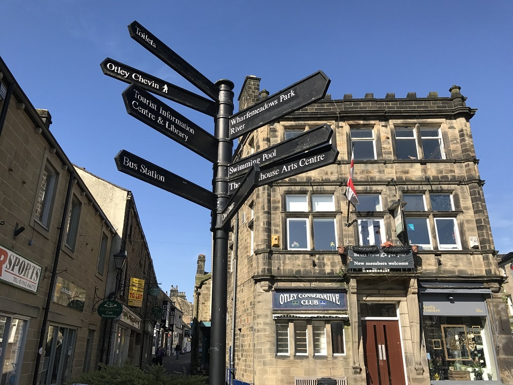 Otley town centre - credit Endure Communications, Otley BID