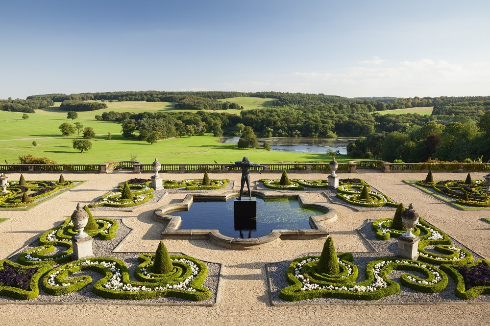 The views from the terrace of Harewood House, Leeds - credit Harewood House Trust and Lee Beal