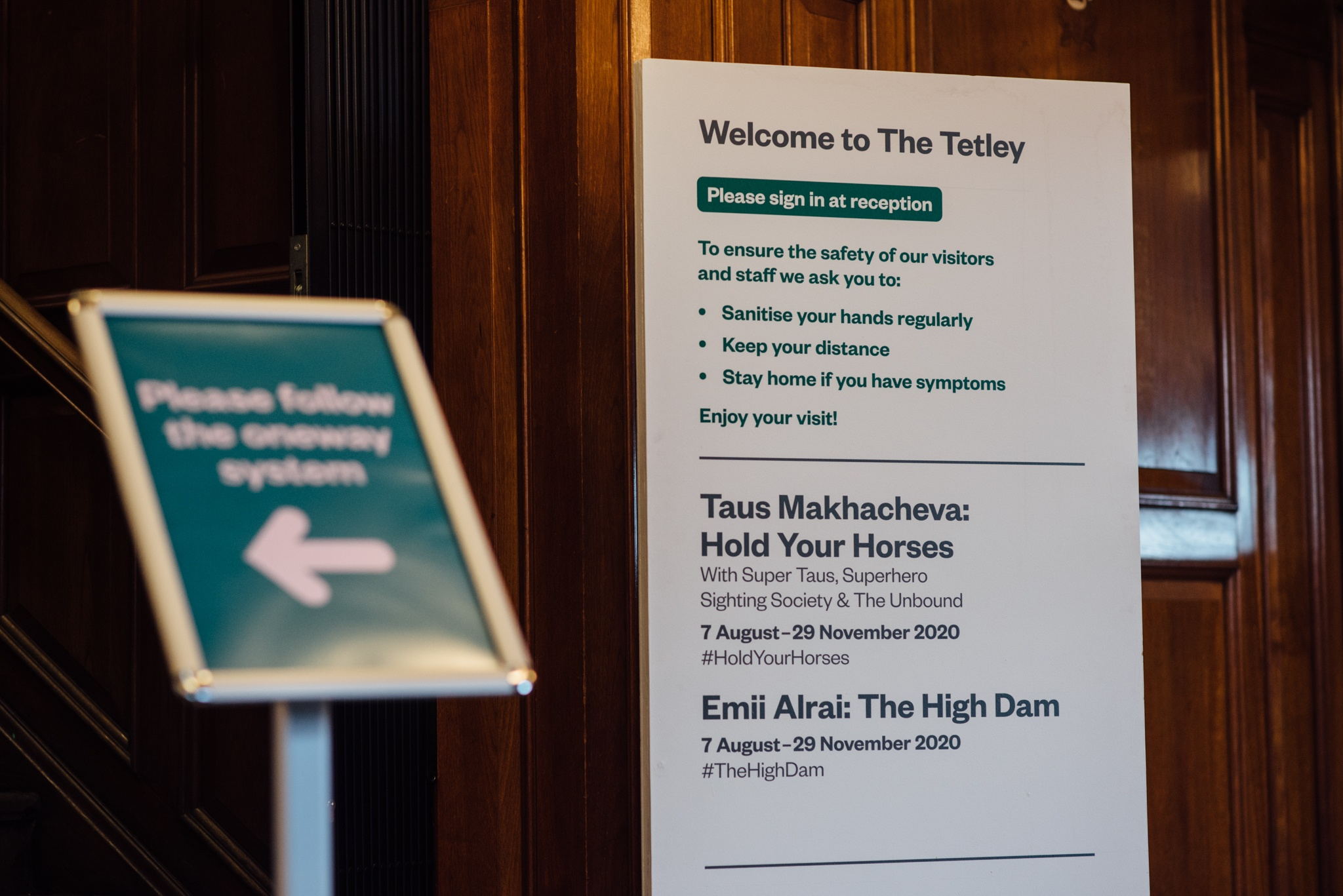 The Tetley safety notices