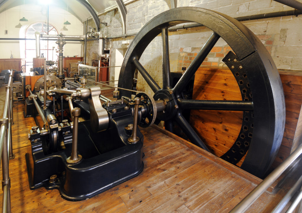 A mill engine at Leeds Industrial Museum - credit Leeds Museums and Galleries
