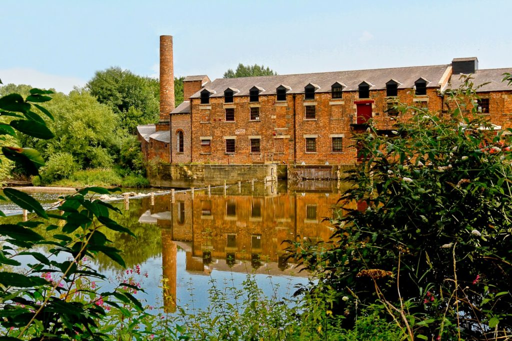 The exterior of Thwaite Watermill - credit Leeds Museums and Galleries