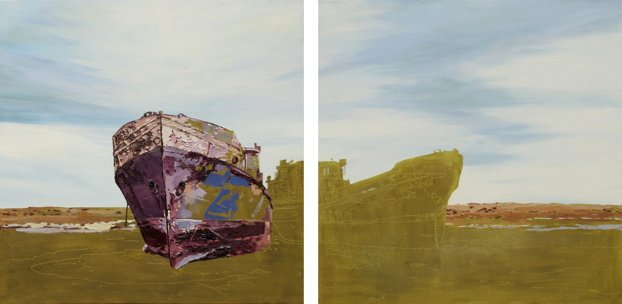 Porch Gallery Exhibition: Kazakh Paintings by Carla Moss