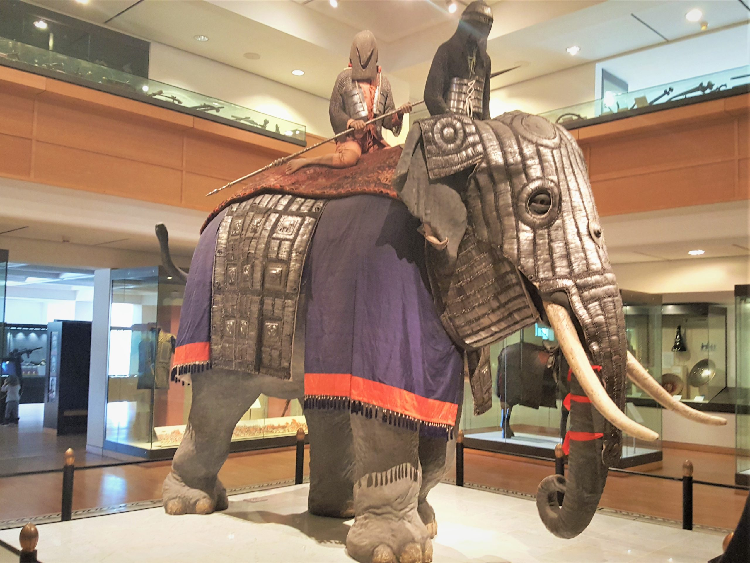 Elephant Armour at the Royal Armouries Museum, Leeds