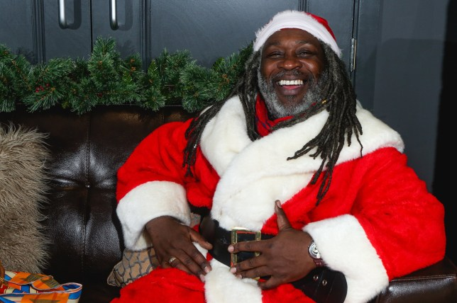 Cleve Freckleton as Rasta Claus