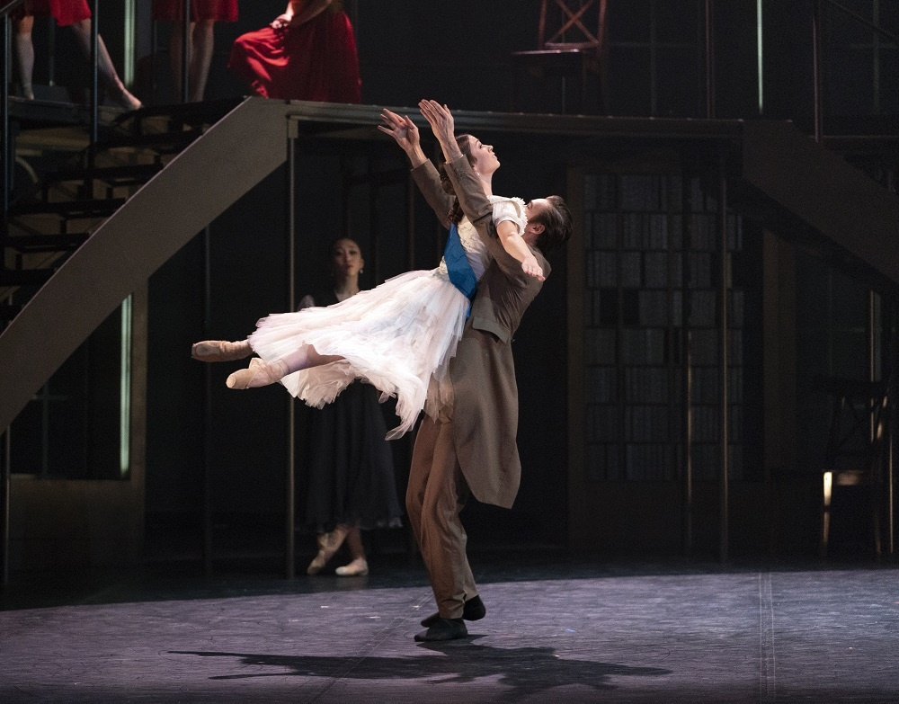 Northern Ballet's Abigail Prudames as Victoria and Joseph Taylor as Albert in Victoria. Photo Emma Kauldhar