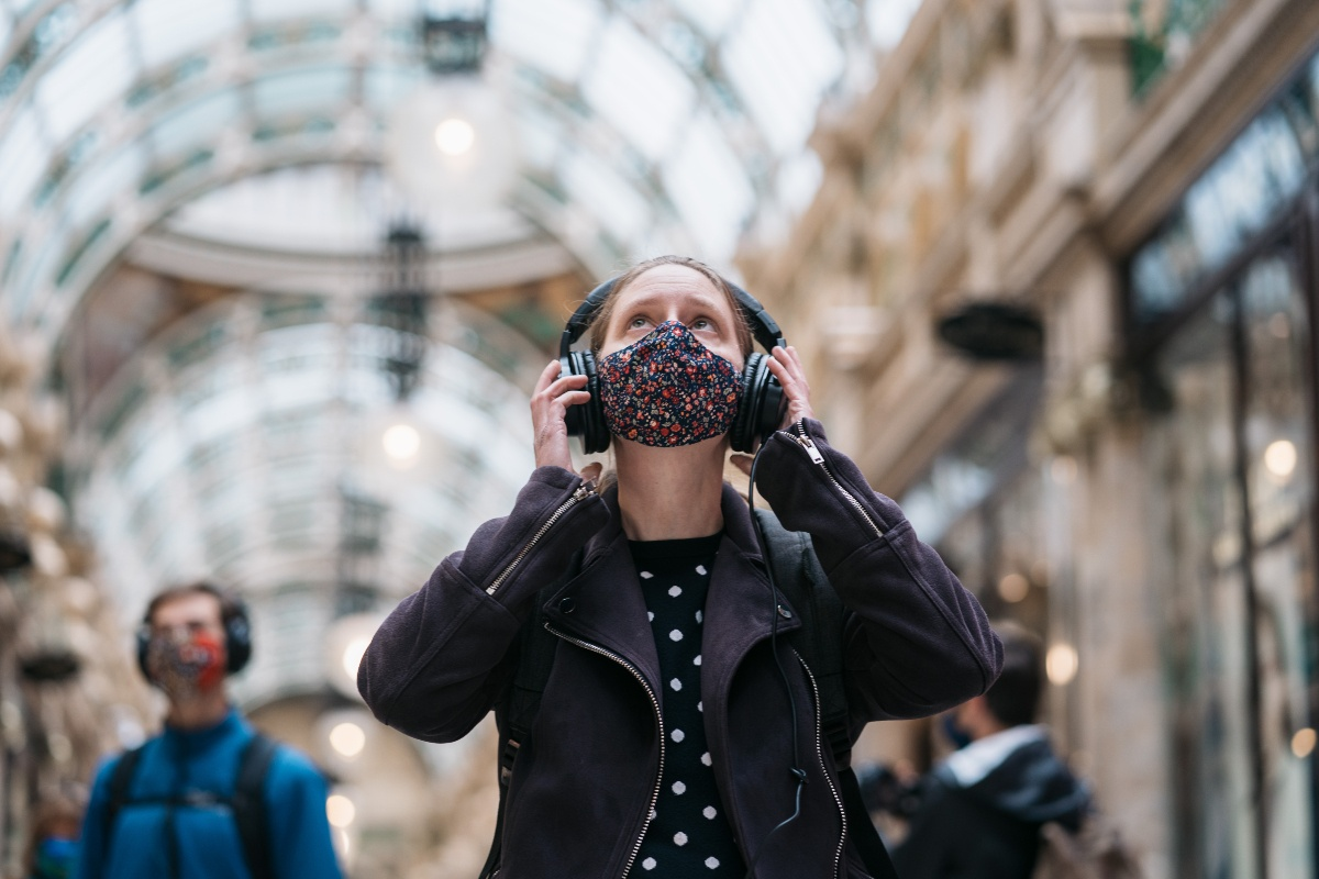 As You Are soundwalk opens in Leeds on Sat 12 Dec. Photo credit Tom Arber