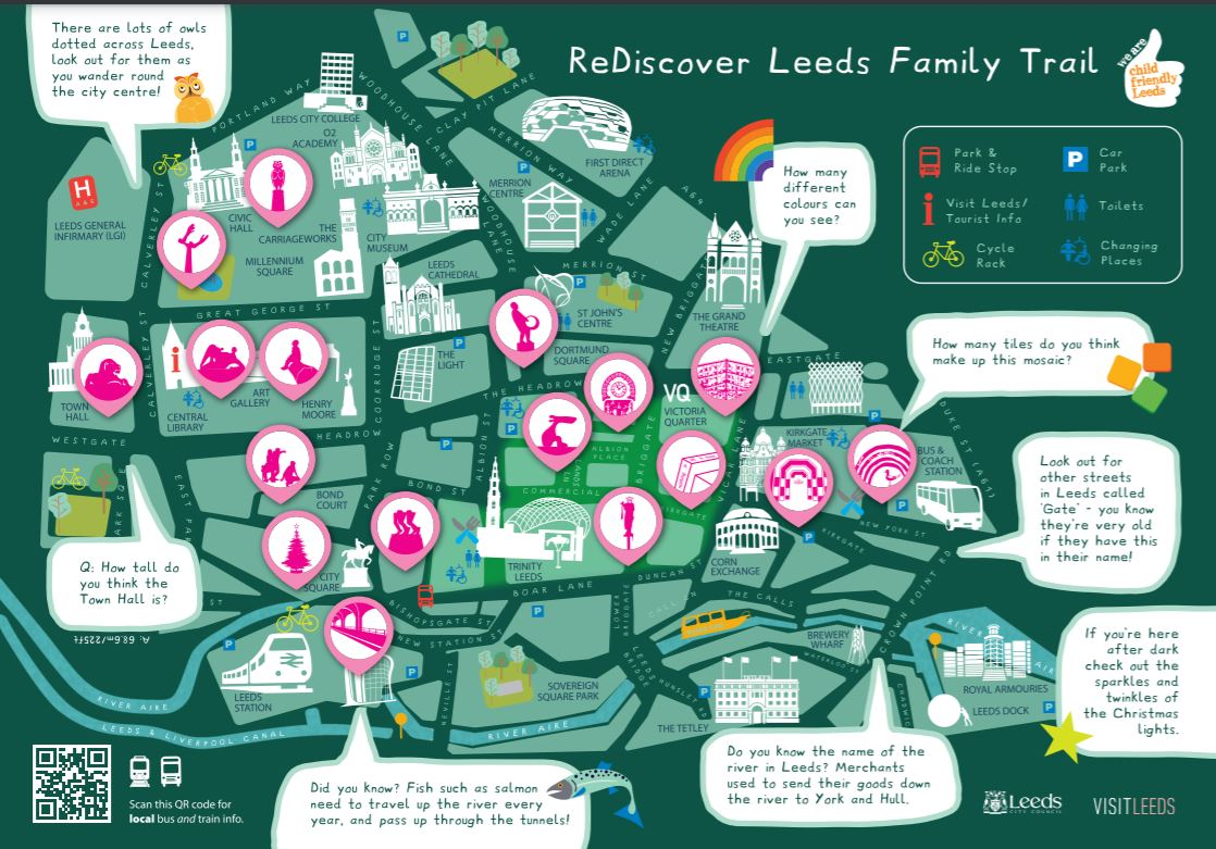 ReDiscover Leeds Family Trail