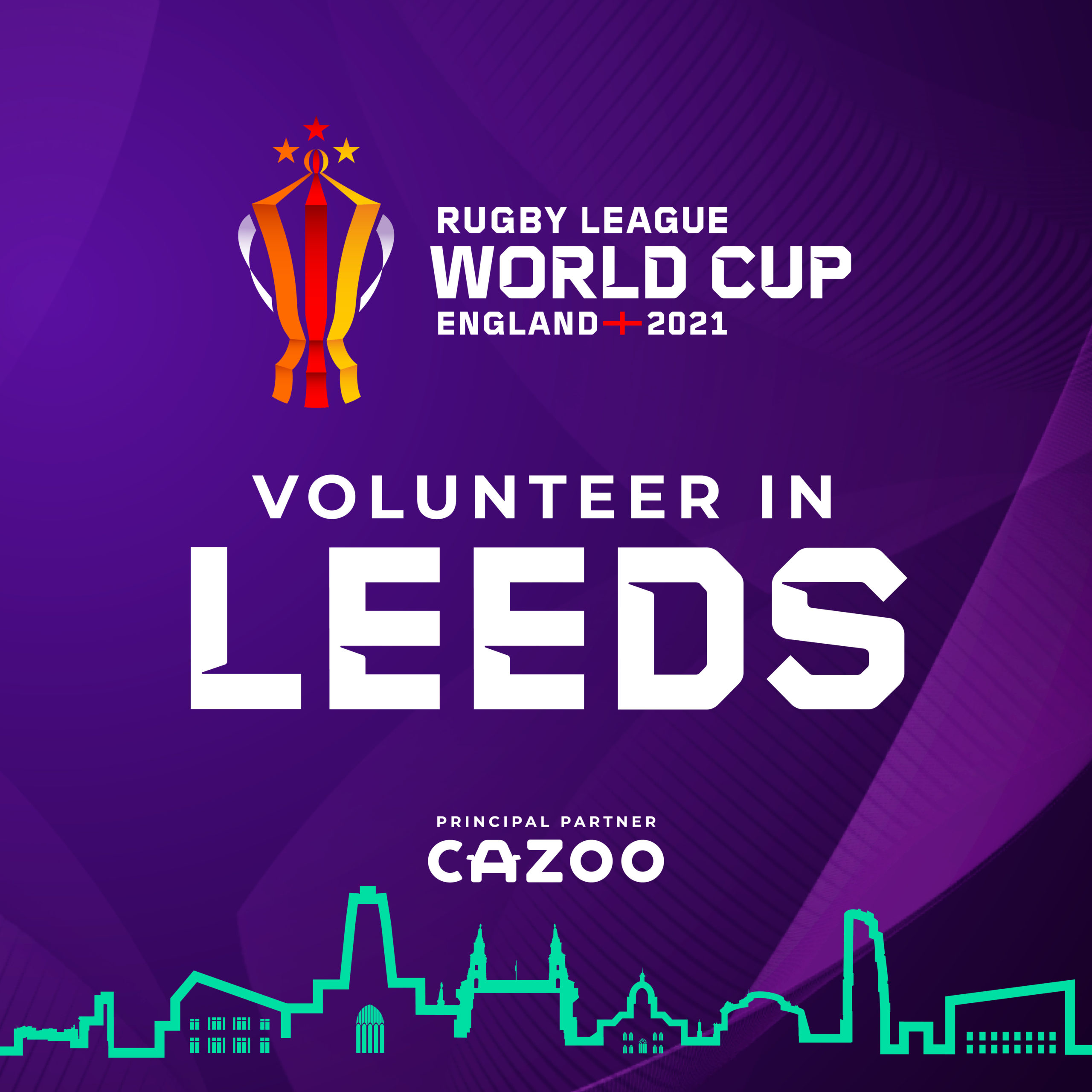Volunteer for Rugby League World Cup 2021